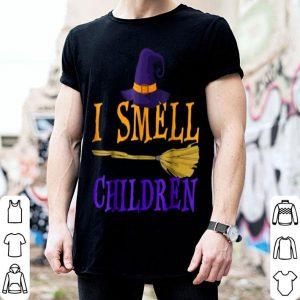 Original I Smell Children Witch Halloween Costume shirt