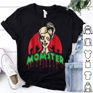 Original Parents Mom Halloween Costume Momster Zombie shirt