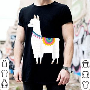 Premium Cute Llama Gift for Girls shirt
