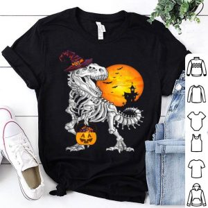 Premium Dinosaur With Candy Pumpkin Halloween shirt