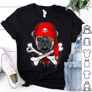 Premium Pirate Pug Dog Halloween 2019 gifts shirt