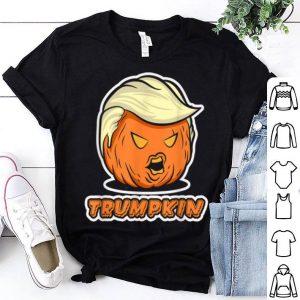 Premium Trumpkin - Make Halloween Great Again - Pumpkin Trump shirt