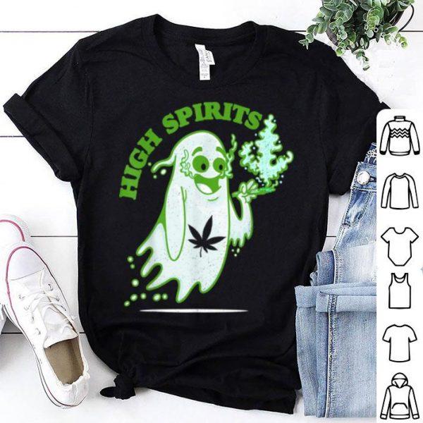 Top Halloween Marijuana Cbd Weed Smokers Stoners & Pothead shirt