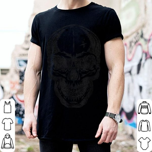 Awesome Angry Skeleton Scull Scary Horror Halloween Party Costume shirt