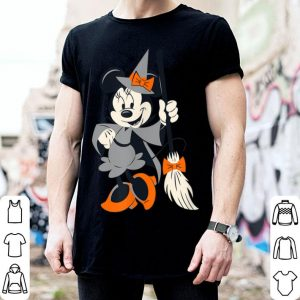 Awesome Disney Halloween Minnie Happy Witch shirt