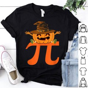Awesome Halloween Math Pumpkin Pi Witch Hat Pie shirt