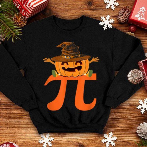 Awesome Halloween Math Pumpkin Pi Witch Hat Pie shirt