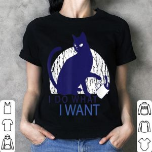 Awesome I do what I want - Rebel Cat - Gift for Cat Lovers shirt