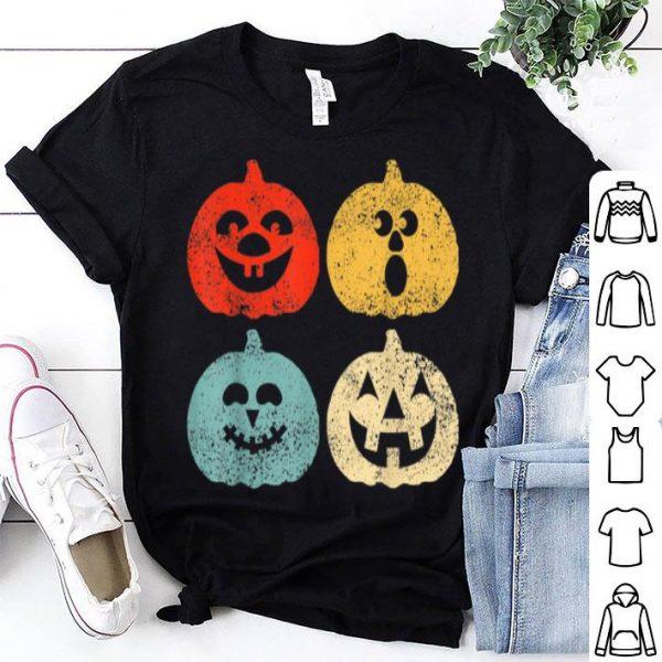 Awesome Vintage Halloween Pumpkin Women, Men, Kids, Funny Retro Gift shirt