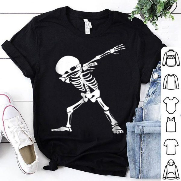Beautiful Dabbing Skeleton - Funny Halloween Dab Skull shirt