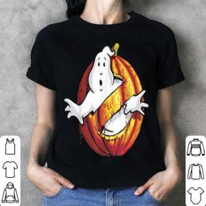 Beautiful Ghostbusters Classic Logo Halloween Pumpkin Graphic shirt