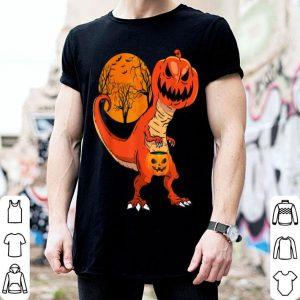Beautiful Halloween Dinosaur Pumpkin Head Costume Gift For Boys shirt