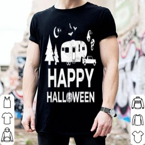 Beautiful Happy Halloween Camping Fifth Wheel Camper RV Vacation shirt