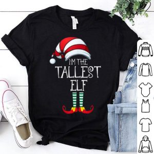Hot I'm The Tallest Elf Family Matching Christmas Gift Group shirt
