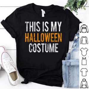 Hot Vintage This Is My Halloween Costume Apparel, Funny Retro shirt