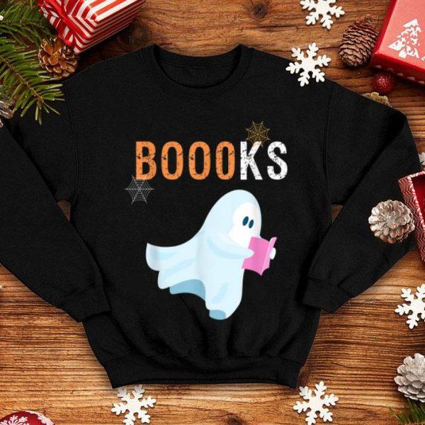 Nice Halloween Ghost Reading Booooks shirt