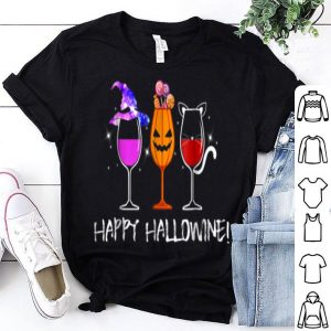 Official Happy Hallowine Gift For Halloween shirt