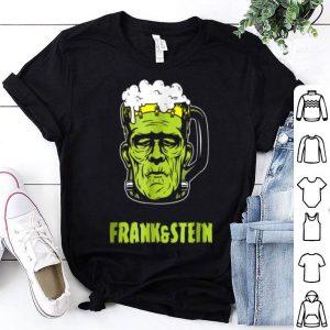 Original Fun Frank & Stein Drinking Halloween Oktoberfest Gift shirt
