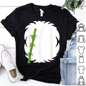 Original Halloween Panda Costume Youth Apparel, Adult Kids Animal shirt