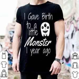 Original Monster Mom of the Birthday Boy Halloween 1st Birthday shirt