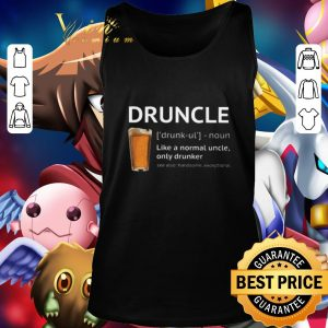 Premium Beer Druncle like a normal uncle only drunker shirt 2