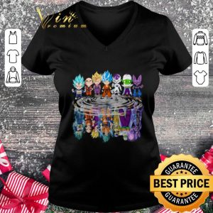 Premium Dragon Ball Chibi reflection water mirror Dragon Ball Super shirt