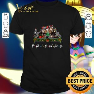 Premium Friends Harry Potter Christmas lights shirt