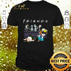Premium Friends Sterling Archer Bender Rick Roger Homer Simpson Bojack Horseman Peter Griffin shirt