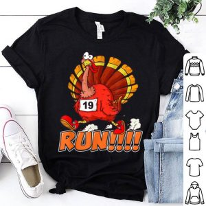 Premium Funny Turkey Thanksgiving Family Trot Run! shirt