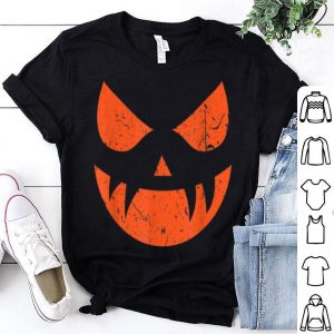 Premium Halloween Creepy Spooky Pumpkin Costume Dress Kids Adults shirt