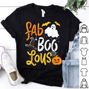 Premium Halloween Fab Boo Lous Trick Or Treats shirt