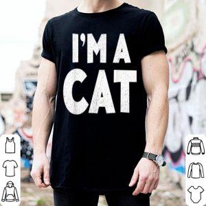 Premium I'm A Cat Halloween Costume shirt