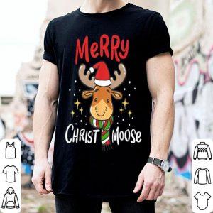 Premium Merry Christmas Christmoose Moose Reindeer Antler Funny Gift shirt