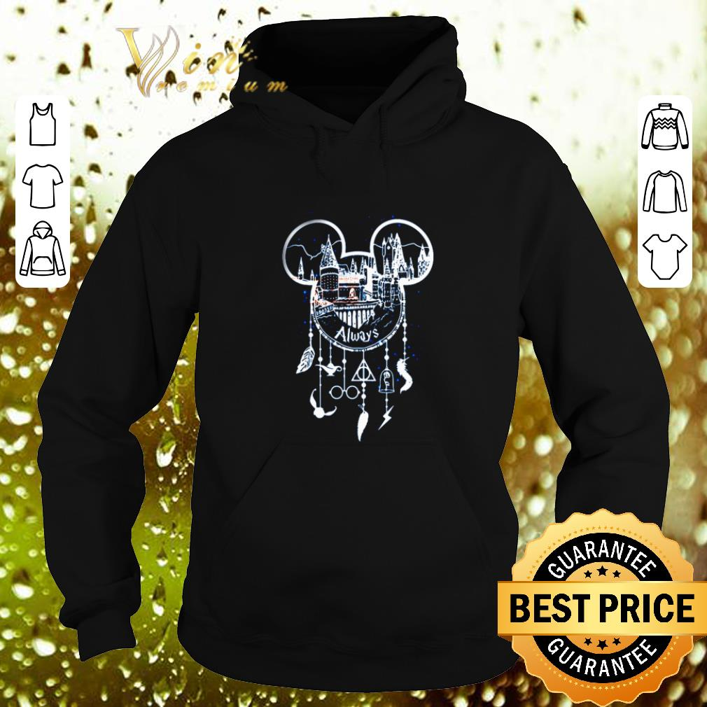 Premium Mickey Head Always Harry Potter Hogwarts Dreamcatcher Disney shirt 4 - Premium Mickey Head Always Harry Potter Hogwarts Dreamcatcher Disney shirt