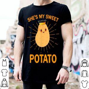 Pretty Funny Shes My Sweet Potato i yam Couples Thanksgiving shirt