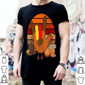 Top American Sign Language I Love You Thanksgiving Turkey shirt