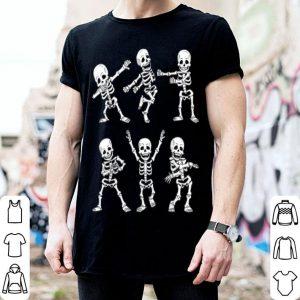 Top Dancing Skeletons Dance Challenge Boys Girl Kids Halloween shirt
