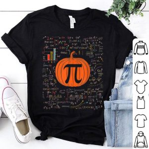 Top Funny Pumpkin Pi Halloween Costume Math Teacher shirt