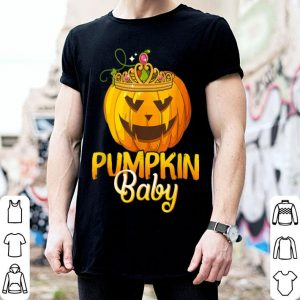 Top Pumpkin Baby Funny Halloween Costume Gift shirt