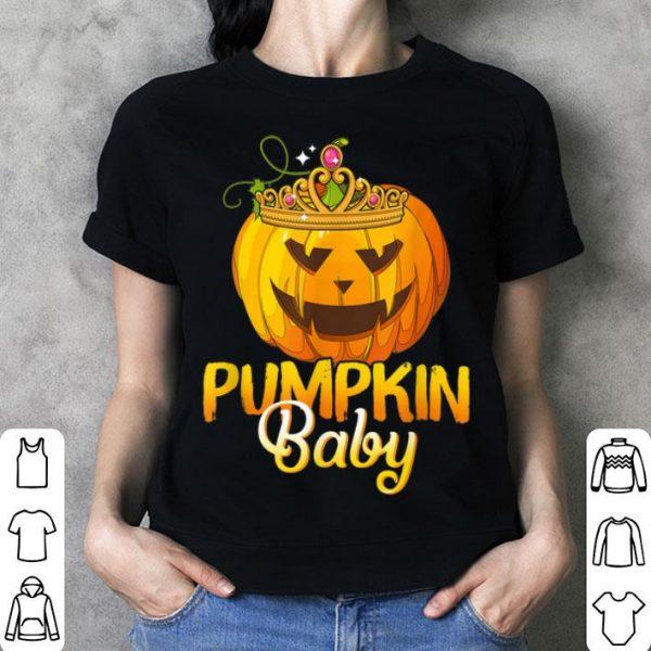 Top Pumpkin Baby Funny Halloween Costume Gift shirt