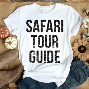Top Safari Tour Guide Easy Funny Joke Halloween Costume shirt