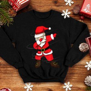 Awesome Dabbing Santa For Boys Christmas Dabbing Santa Claus shirt