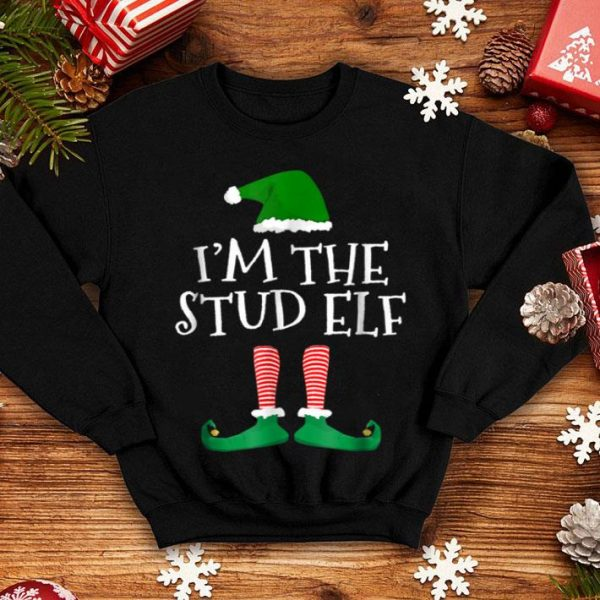 Awesome I'm The Stud Elf Matching Family Christmas Group shirt