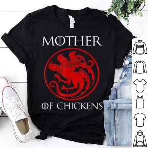 Awesome Mother Of Chickens Mothers Day Gift Chicken Mom Turkey shirt