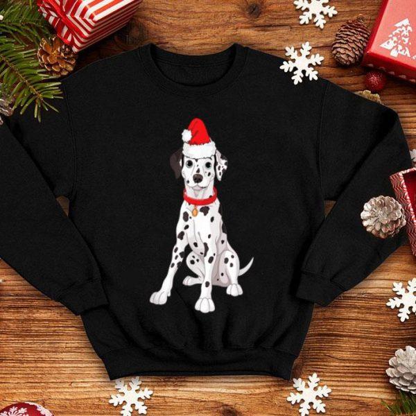 Awesome Santa Dalmatian Dog Christmas Pajama Funny Xmas Gifts shirt