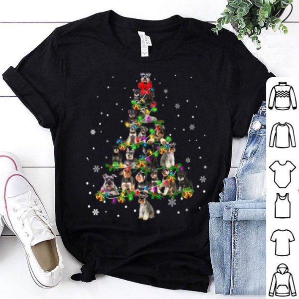 Beautiful Cute Schnauzer dog Christmas Tree gift decor Xmas tree sweater