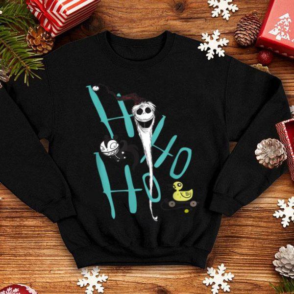 Beautiful Disney Nightmare Before Christmas Jack Zombie Duck shirt