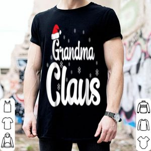 Beautiful Grandma Claus Christmas Family Matching Pajama sweater