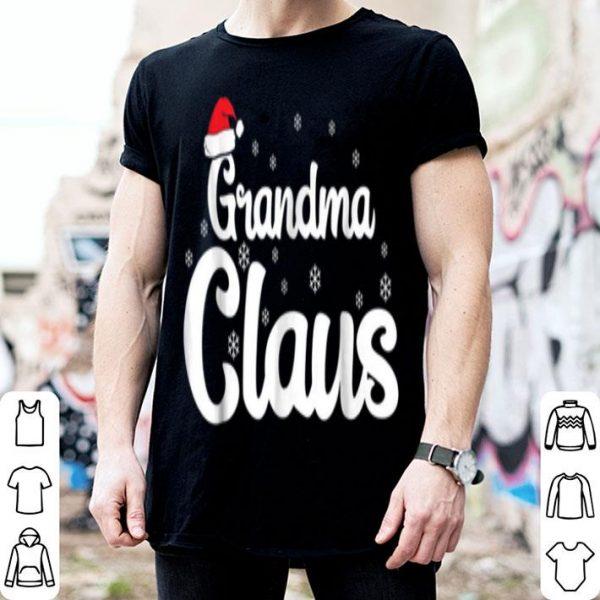 Beautiful Grandma Claus Christmas Family Matching Pajama sweater
