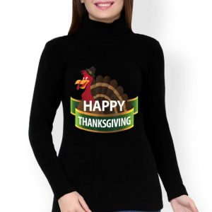 Beautiful Thanksgiving Happy Turkey Day Holiday Gift shirt